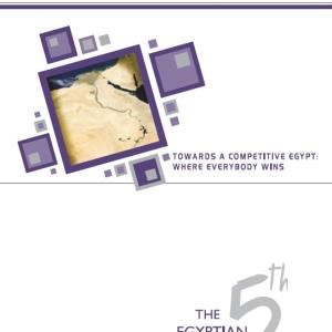 Fifth Report : Towards A Competitiveness Egypt: Where Everybody Wins. (2008)