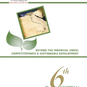 Sixth Report : Beyond the Financial Crisis: Competitiveness & Sustainable Development. (2009)